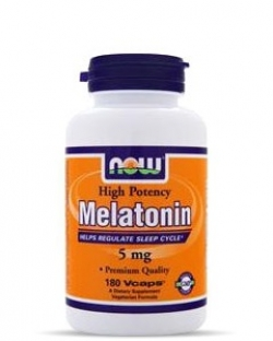 NOW Melatonin 5 mg (60 капс.)