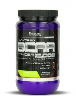 Ultimate Nutrition Flavored BCAA 12000 Powder (457 гр.)