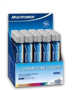 Multipower L-carnitine Forte Liquid 1800 mg (20 х 25 мл.)