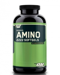 Optimum Nutrition Superior Amino 2222 Softgels (300 гел. капс.)