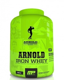 MusclePharm Iron Whey Arnold Series (908 гр.)
