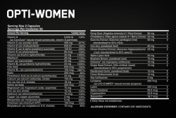 Optimum Nutrition Opti - Women (120 капс.)