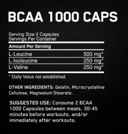 Optimum Nutrition BCAA 1000 (60 капс.)
