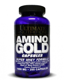 Ultimate Nutrition Amino Gold 1000 mg (250 капс.)
