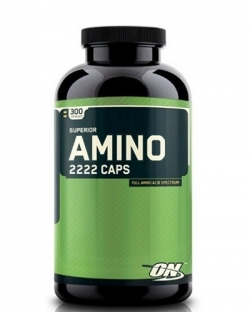 Optimum Nutrition Superior Amino 2222 (300 капс.)
