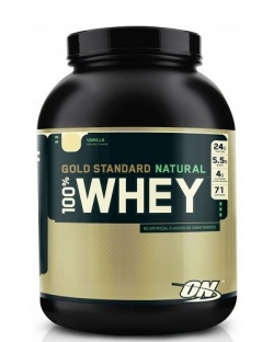 Optimum Nutrition 100% Whey Gold Standard Natural (2273 г.)