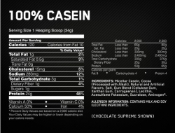 Optimum Nutrition 100% Casein Protein (0,9 кг.)