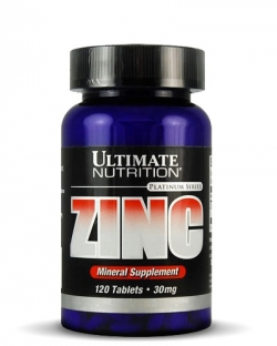 Ultimate Nutrition Zinc (120 таб.)