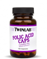 Twinlab Folic Acid Caps (100 капс.)