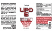 Nutrex LIPO-6 Unlimited (120 капс.)