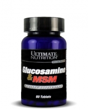 Ultimate Nutrition Glucosamine / MSM (60 капсул)