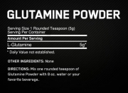Optimum Nutrition Glutamine Powder (300 гр.)