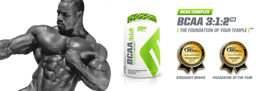 MusclePharm BCAA 3/1/2