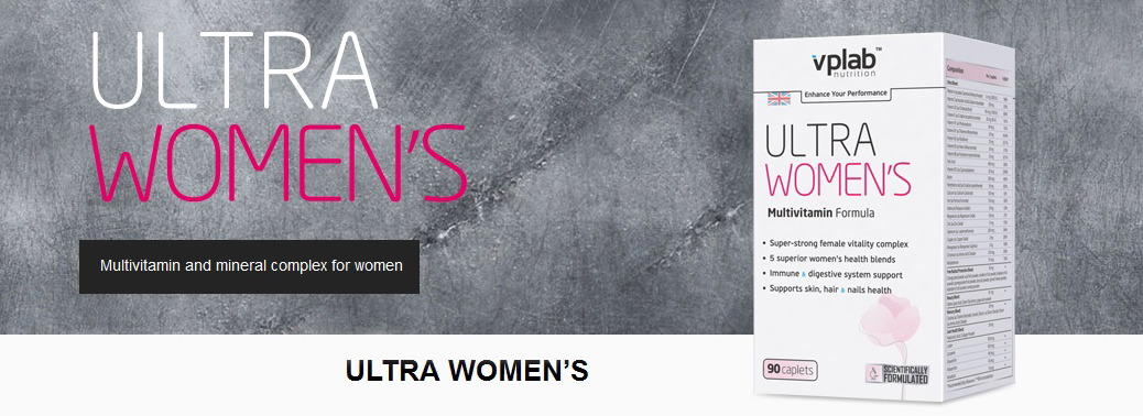 Ultra Women's Multivitamine Formula